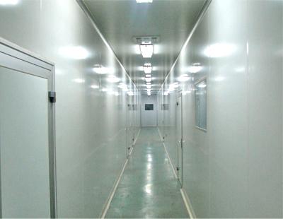 净化室车间走廊